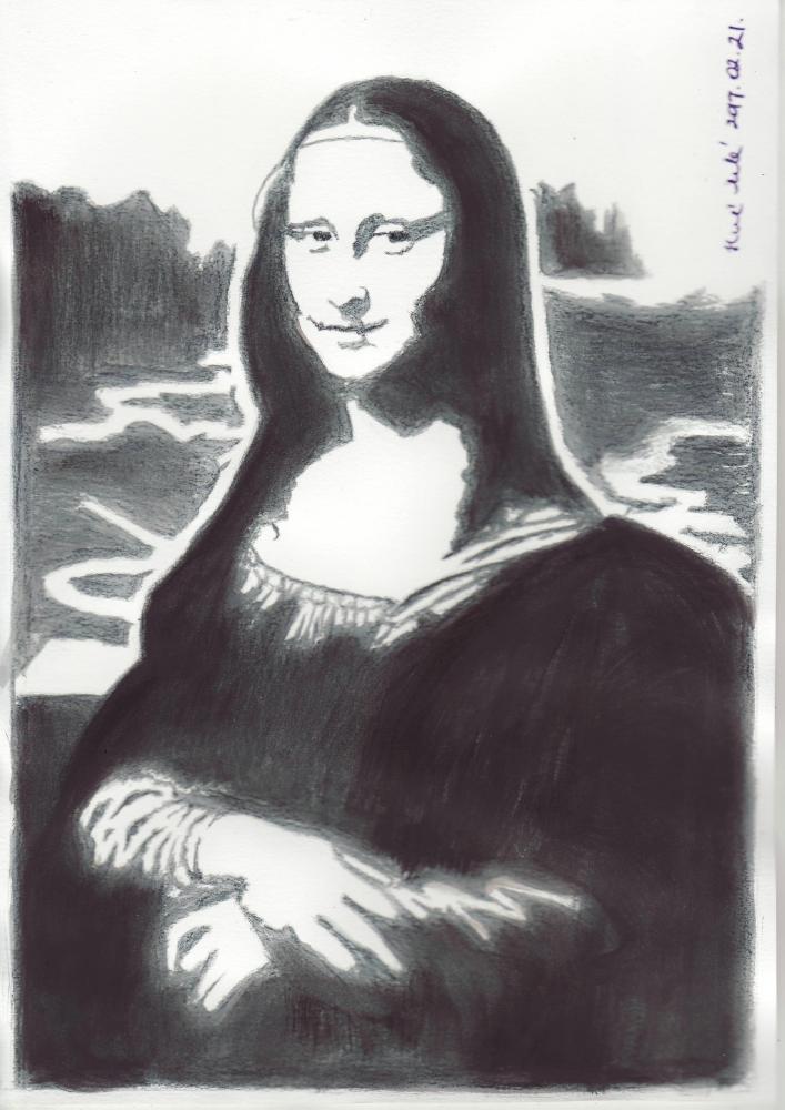 Mona Lisa by mklari77